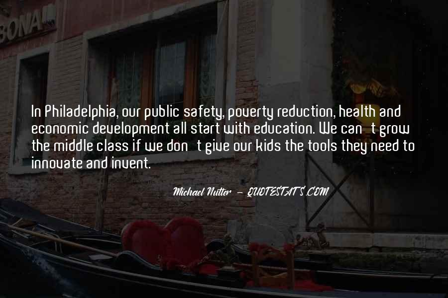 Education And Poverty Reduction Quotes #1124184