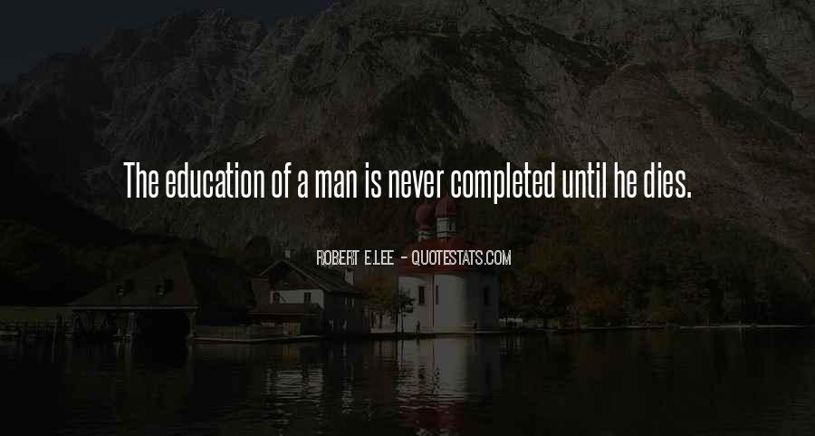 Education Completed Quotes #664528