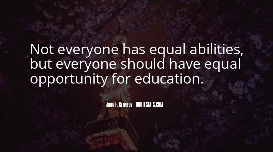 Education For Everyone Quotes #1215365