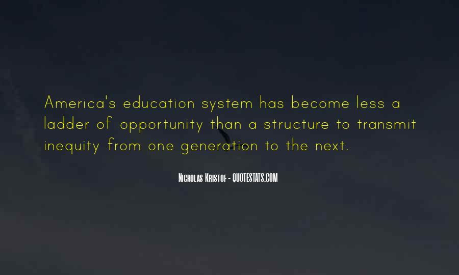 Education Inequality In America Quotes #848374