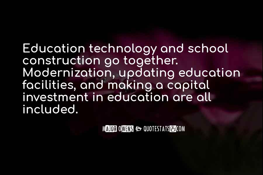 Education Is Investment Quotes #1082886