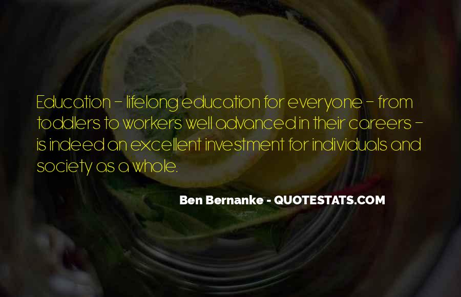 Education Is Investment Quotes #1092963