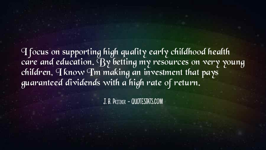 Education Is Investment Quotes #249792