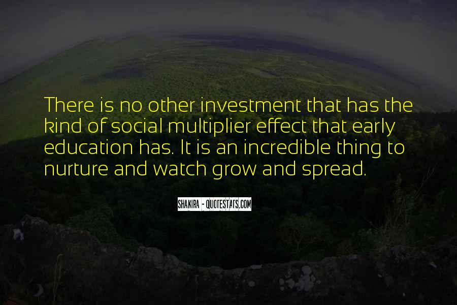 Education Is Investment Quotes #286773