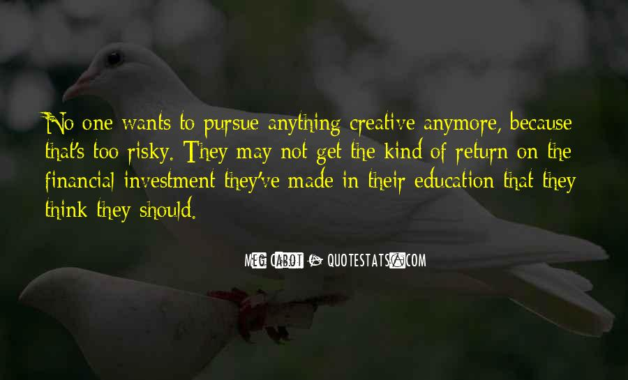 Education Is Investment Quotes #445405