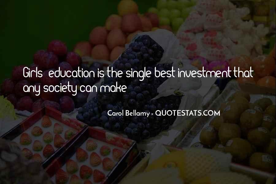 Education Is Investment Quotes #539320