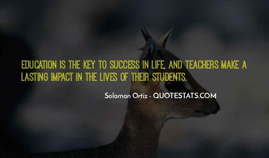 Education Is Not The Key To Success Quotes #147266