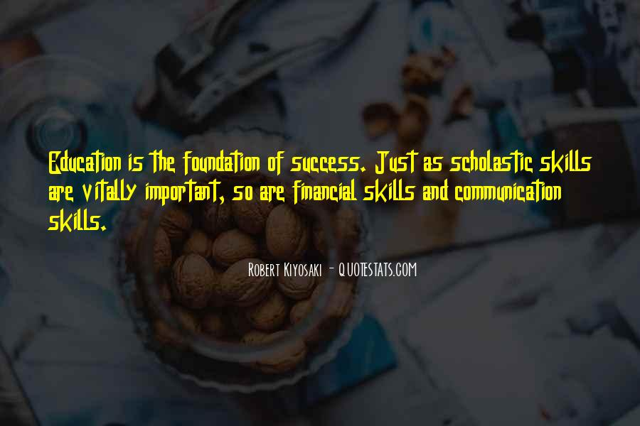 Education Is Not The Key To Success Quotes #424566