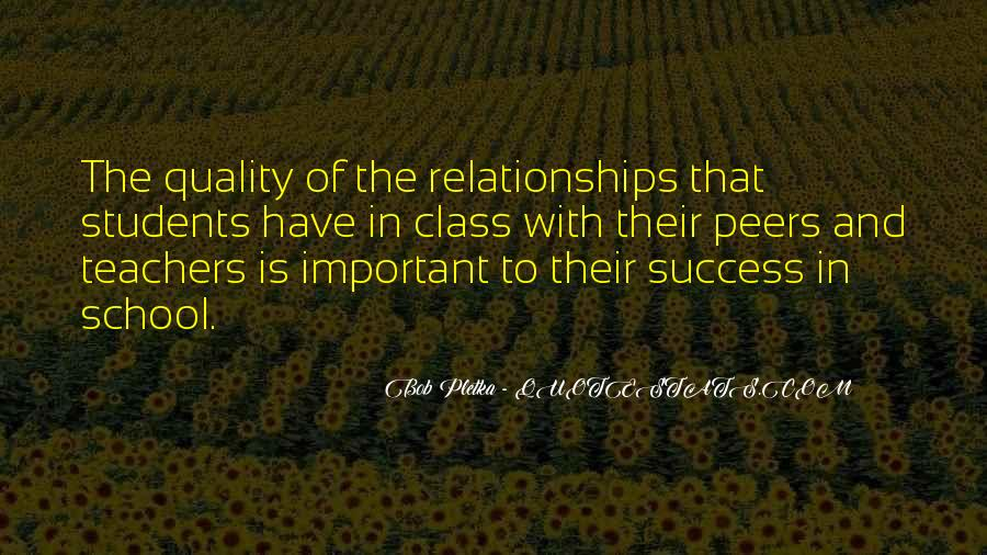 Education Is Not The Key To Success Quotes #75214