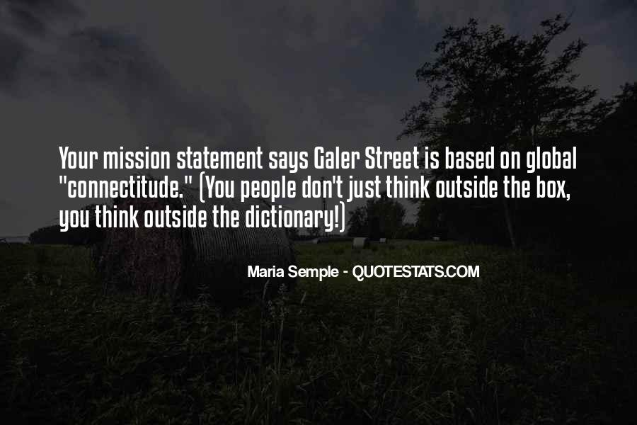 Education Mission Statement Quotes #1388501