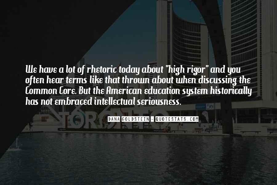 Education Rigor Quotes #329823
