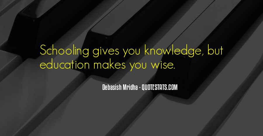 Education Vs Schooling Quotes #254719