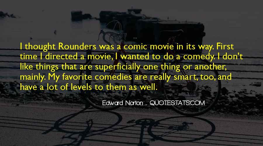 Edward Norton Rounders Quotes #267134