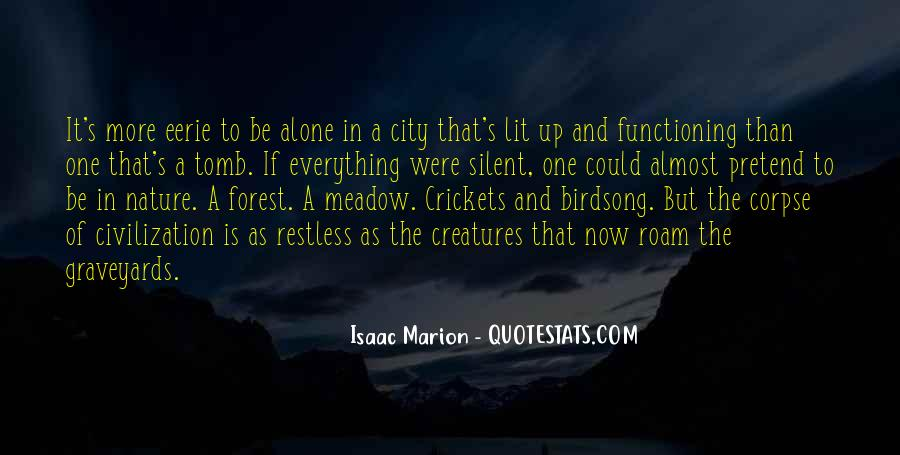 Eerie Forest Quotes #1789727