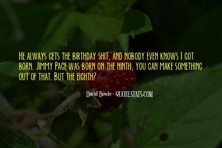 Eighth Birthday Quotes #1594116