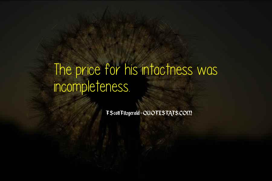 Quotes About Incompleteness #731408