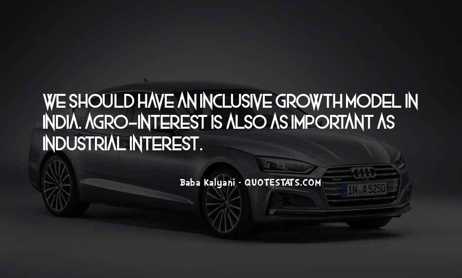 Quotes About Inclusive Growth #125212