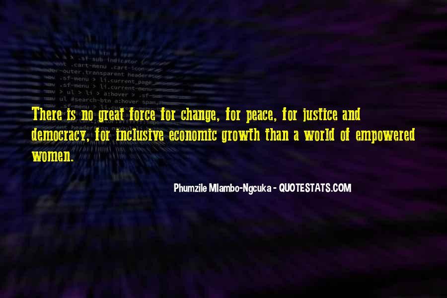 Quotes About Inclusive Growth #1263295