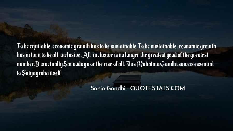 Quotes About Inclusive Growth #149536