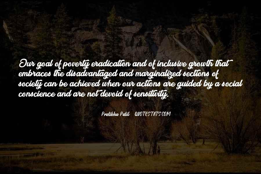 Quotes About Inclusive Growth #1647716
