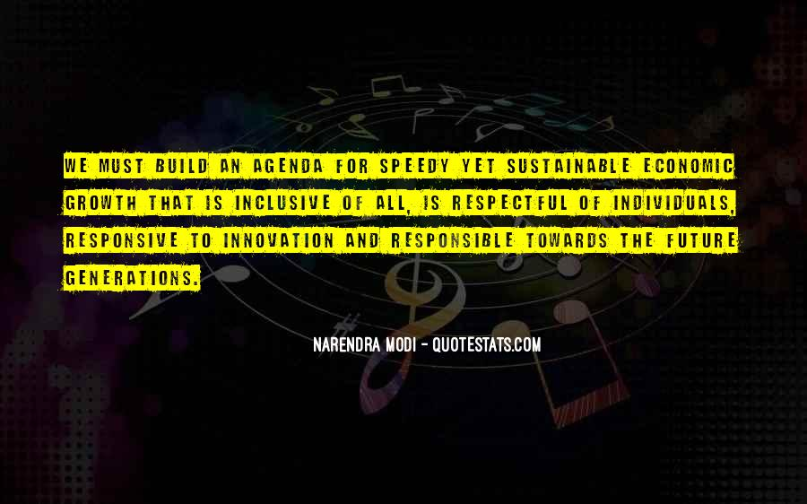 Quotes About Inclusive Growth #172599