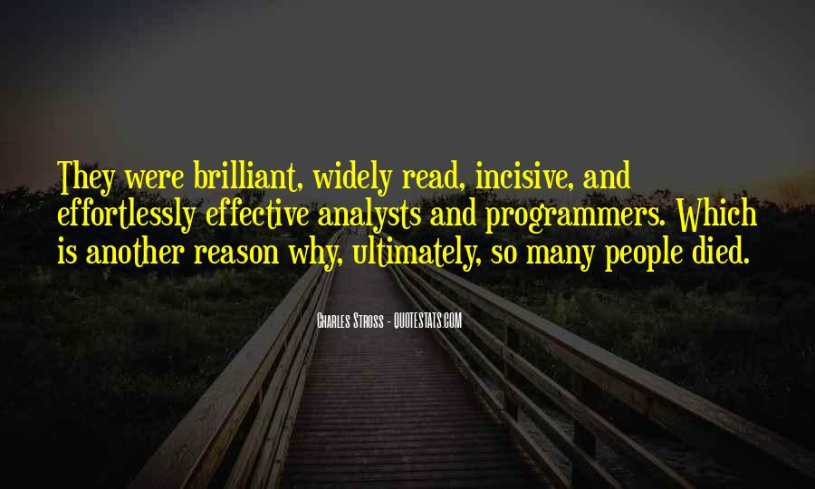Quotes About Incisive #1319398
