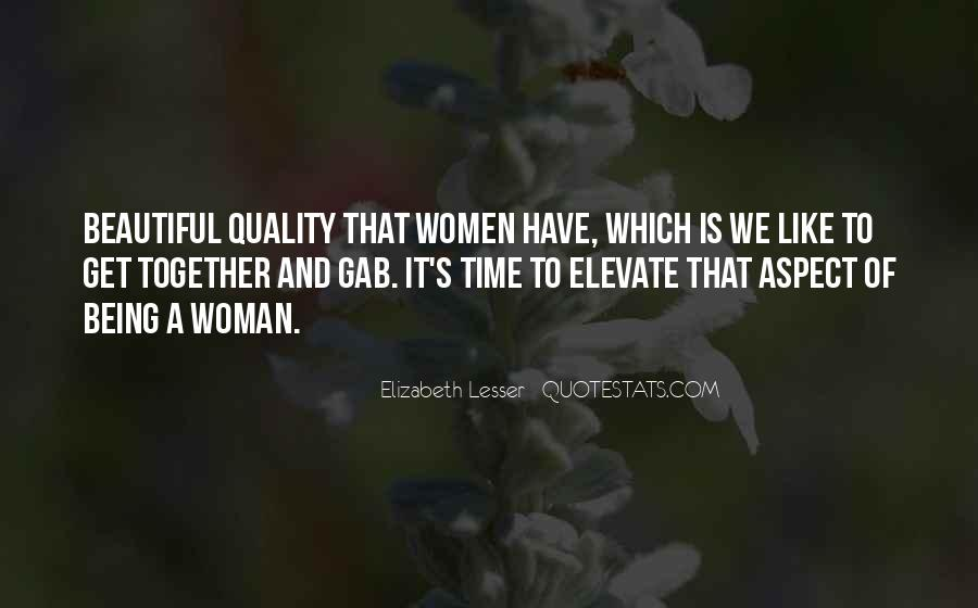 Elevate Your Woman Quotes #163221