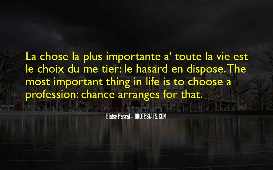 Quotes About Importante #1306003