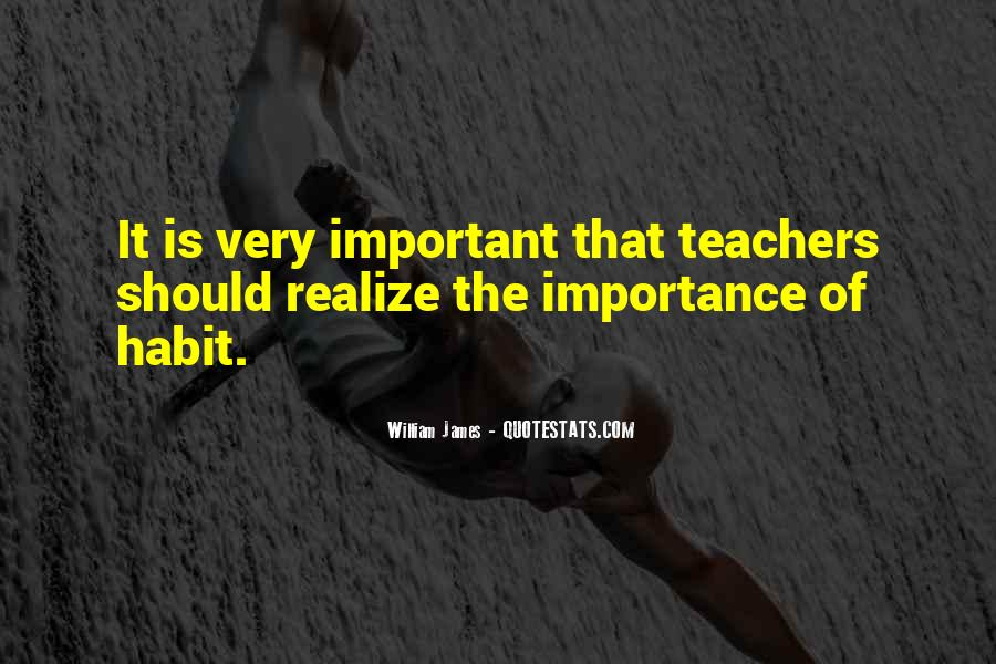 Quotes About Importance Of Teachers #301716