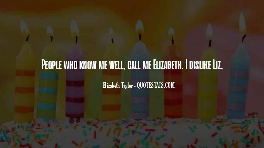 Elizabeth Quotes #6727