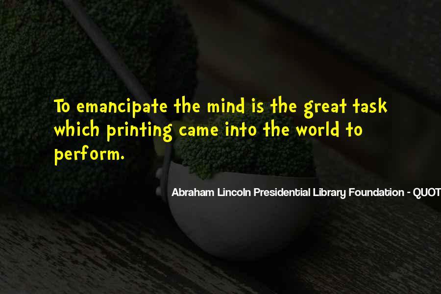Emancipate Quotes #1491937