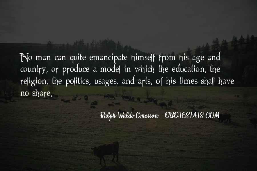 Emancipate Quotes #1573366
