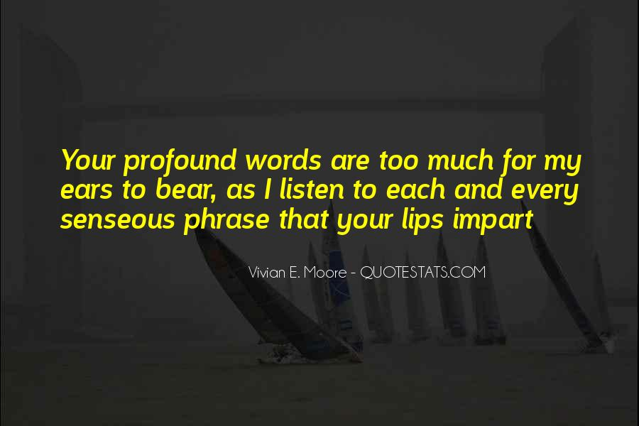 Quotes About Impart #339396