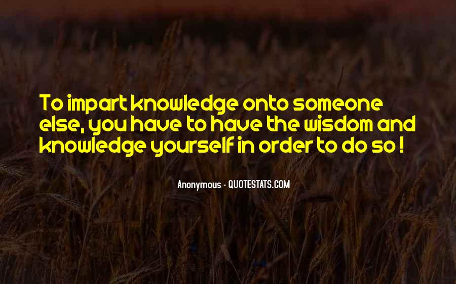 Quotes About Impart #396318