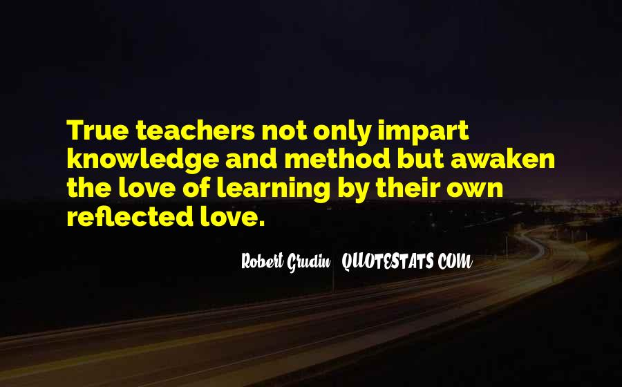 Quotes About Impart #485464