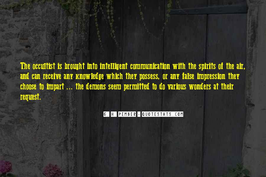 Quotes About Impart #714058