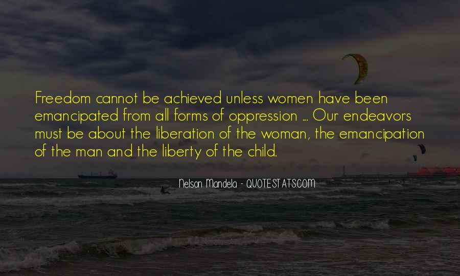Emancipated Woman Quotes #281632