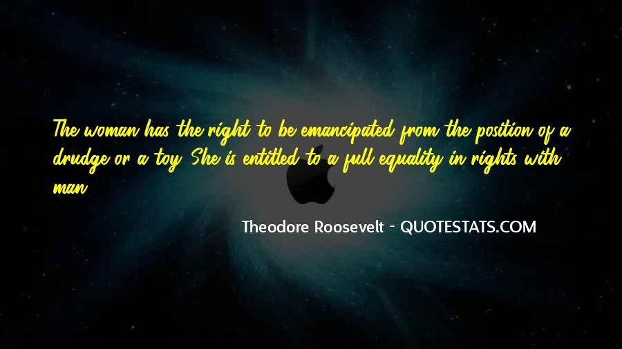 Emancipated Woman Quotes #501766