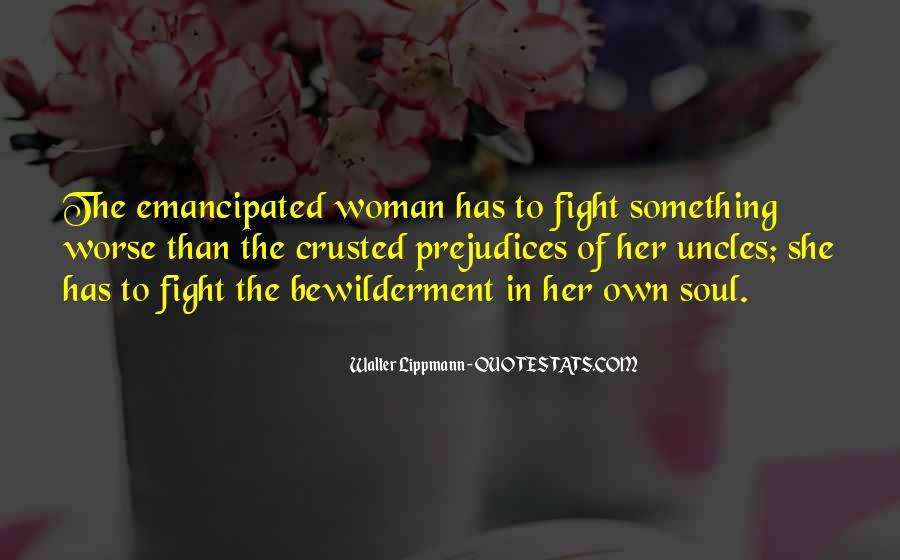 Emancipated Woman Quotes #872830