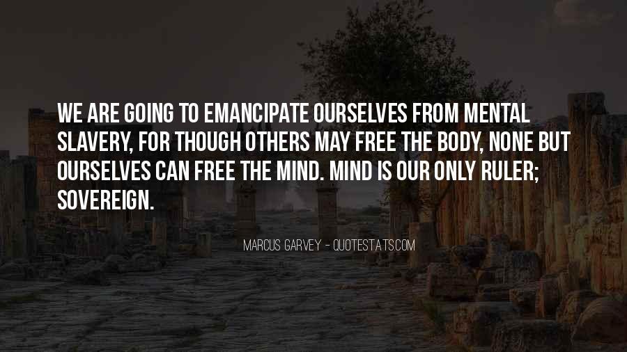 Emancipation Of Slavery Quotes #214782