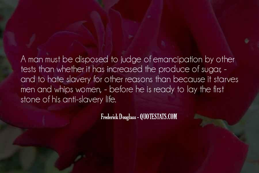 Emancipation Of Slavery Quotes #341834