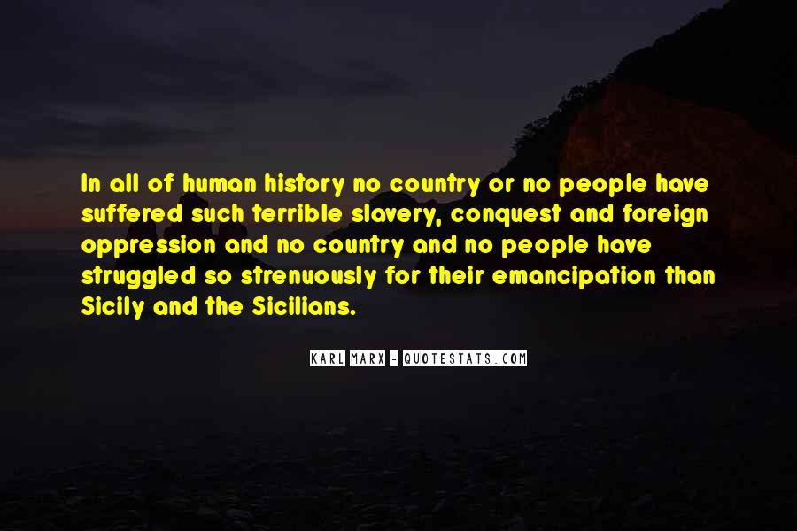 Emancipation Of Slavery Quotes #523255