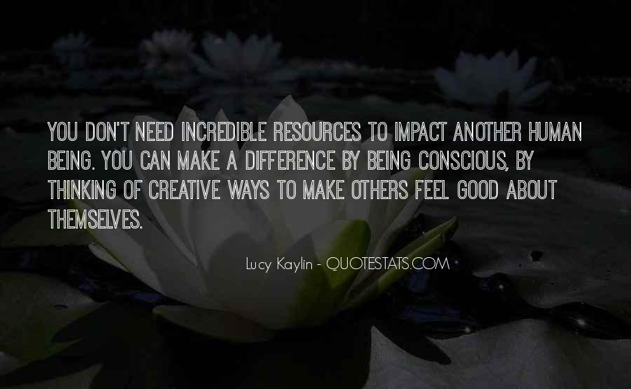 Quotes About Impact Of Others #1003480