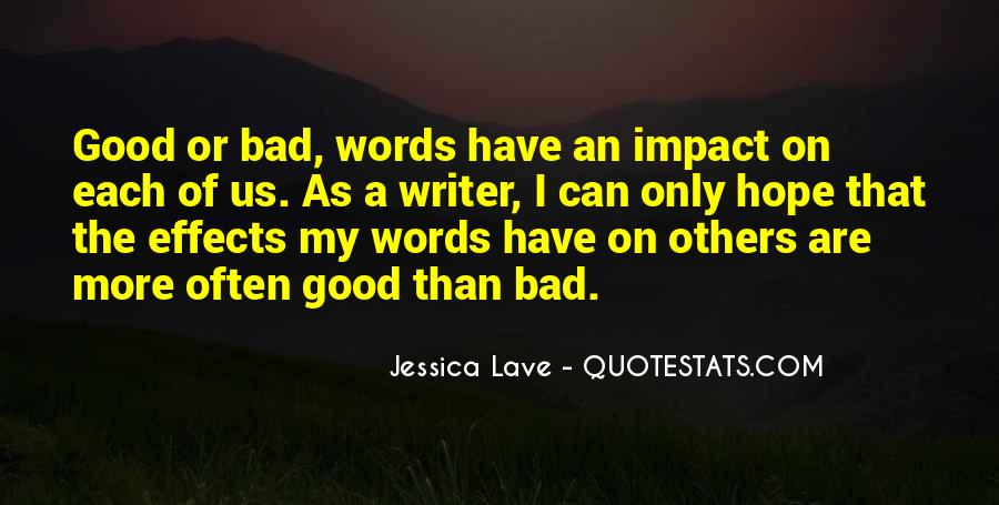 Quotes About Impact Of Others #105915