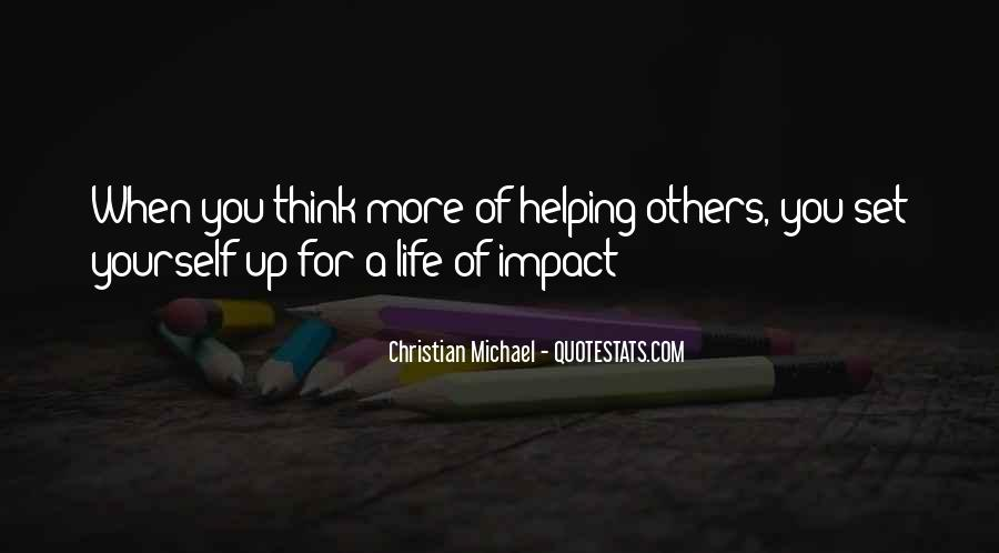 Quotes About Impact Of Others #1072332
