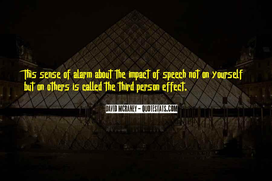 Quotes About Impact Of Others #1174013