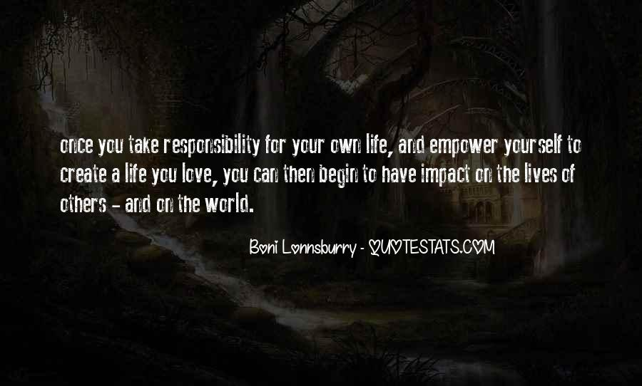 Quotes About Impact Of Others #1210594