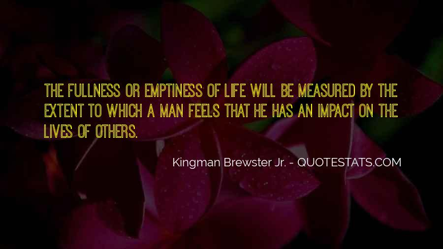 Quotes About Impact Of Others #1222207