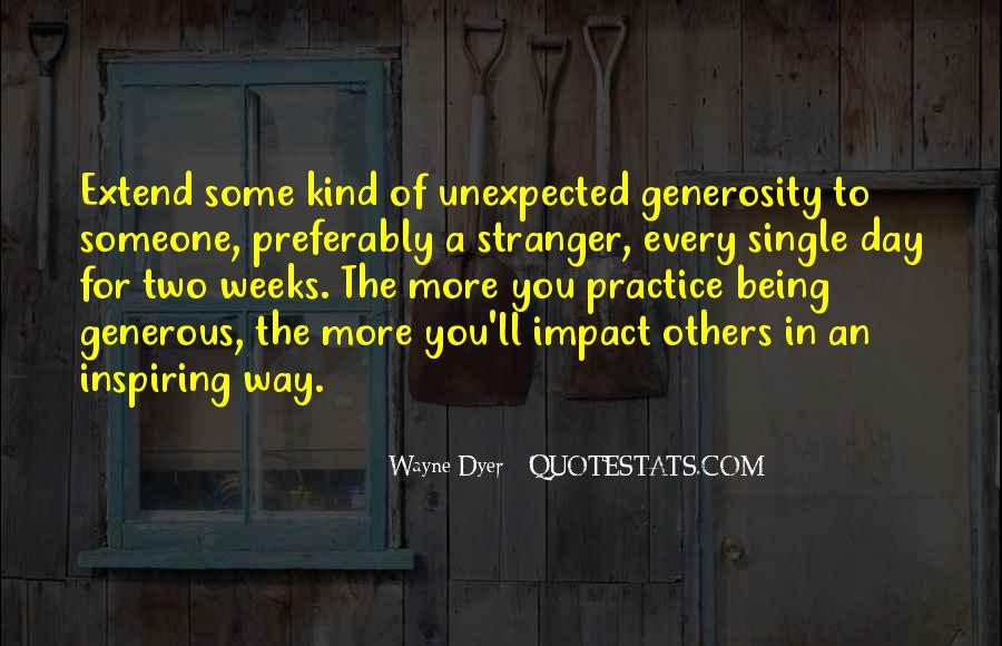Quotes About Impact Of Others #1674577