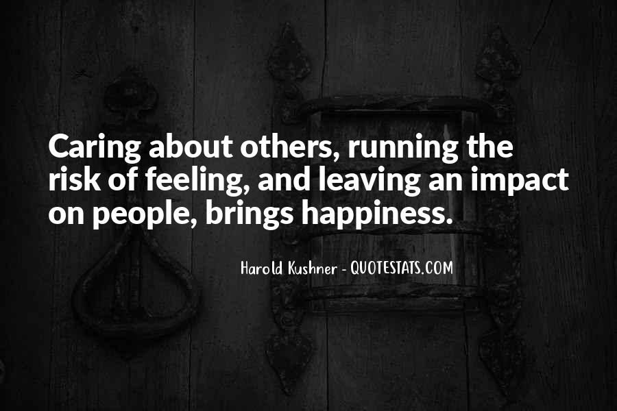 Quotes About Impact Of Others #1841602